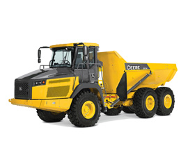 Picture of an Articulated Dump Truck