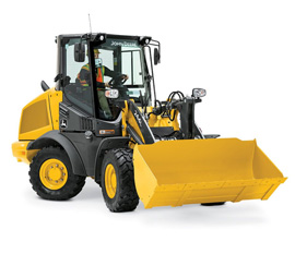Picture of a Compact Wheel Loader