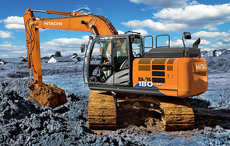 Hitachi ZX180LC-6 Utility Excavators - Available at Dobbs Equipment in Florida