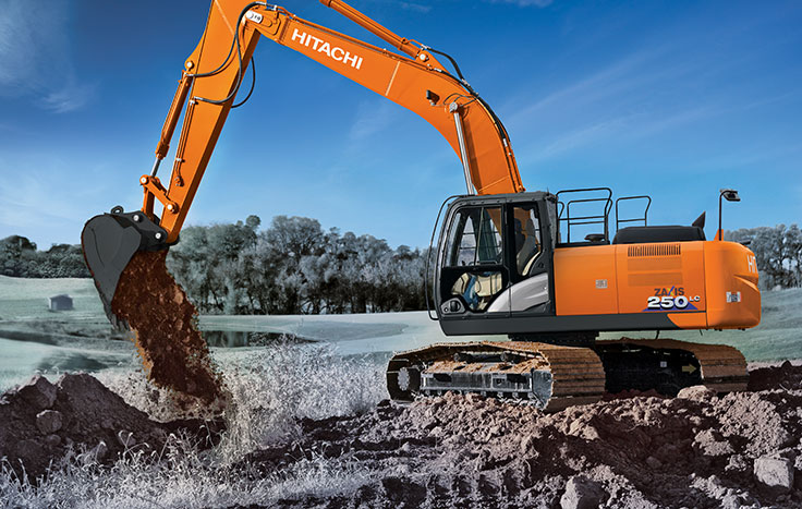 Hitachi ZX250LC-6 Construction / Production Excavators - Available at Dobbs Equipment in Florida