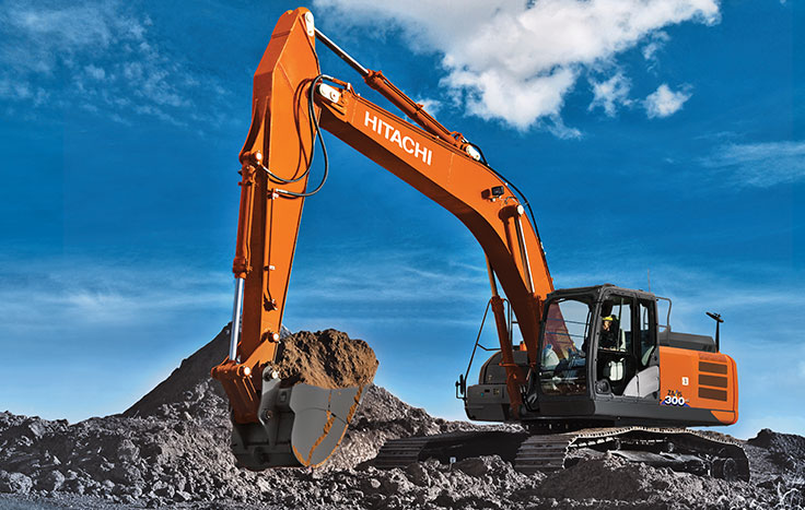 Hitachi ZX300LC-6 Construction / Production Excavators - Available at Dobbs Equipment in Florida