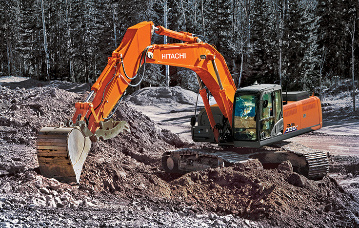 Hitachi ZX350LC-6 Construction / Production Excavators - Available at Dobbs Equipment in Florida