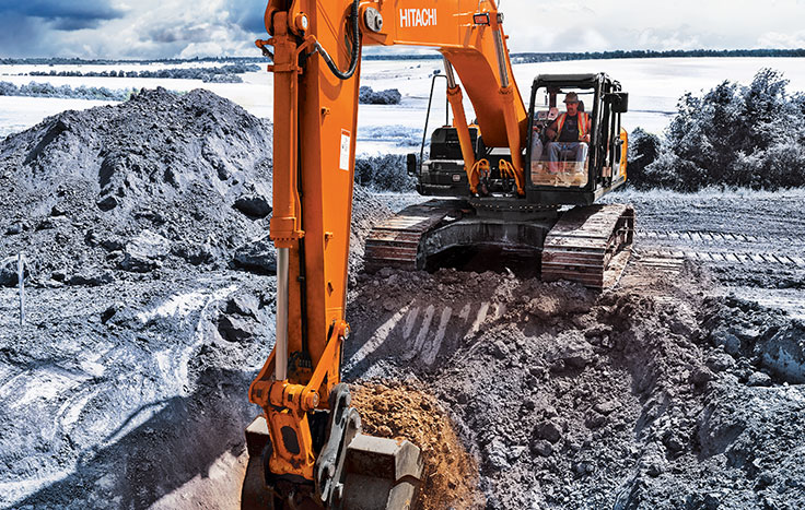Hitachi ZX380LC-6 Construction / Production Excavators - Available at Dobbs Equipment in Florida