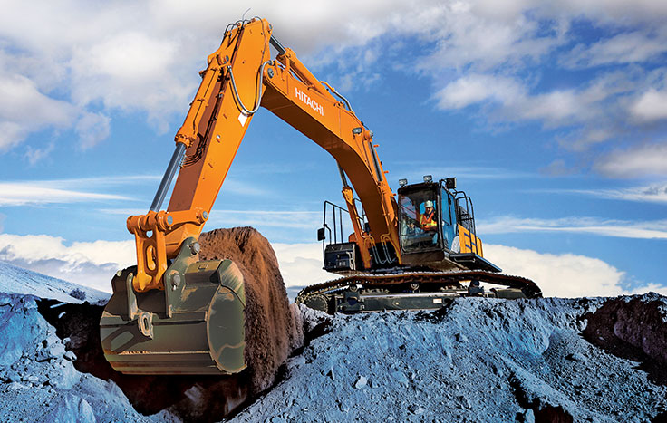 Hitachi ZX470LC-6 Construction / Production Excavators - Available at Dobbs Equipment in Florida