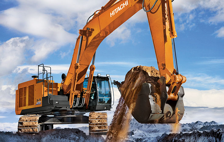 Hitachi ZX670LC-6 Construction / Production Excavators - Available at Dobbs Equipment in Florida