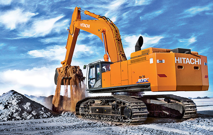 Hitachi ZX870LC-6 Construction / Production Excavators - Available at Dobbs Equipment in Florida
