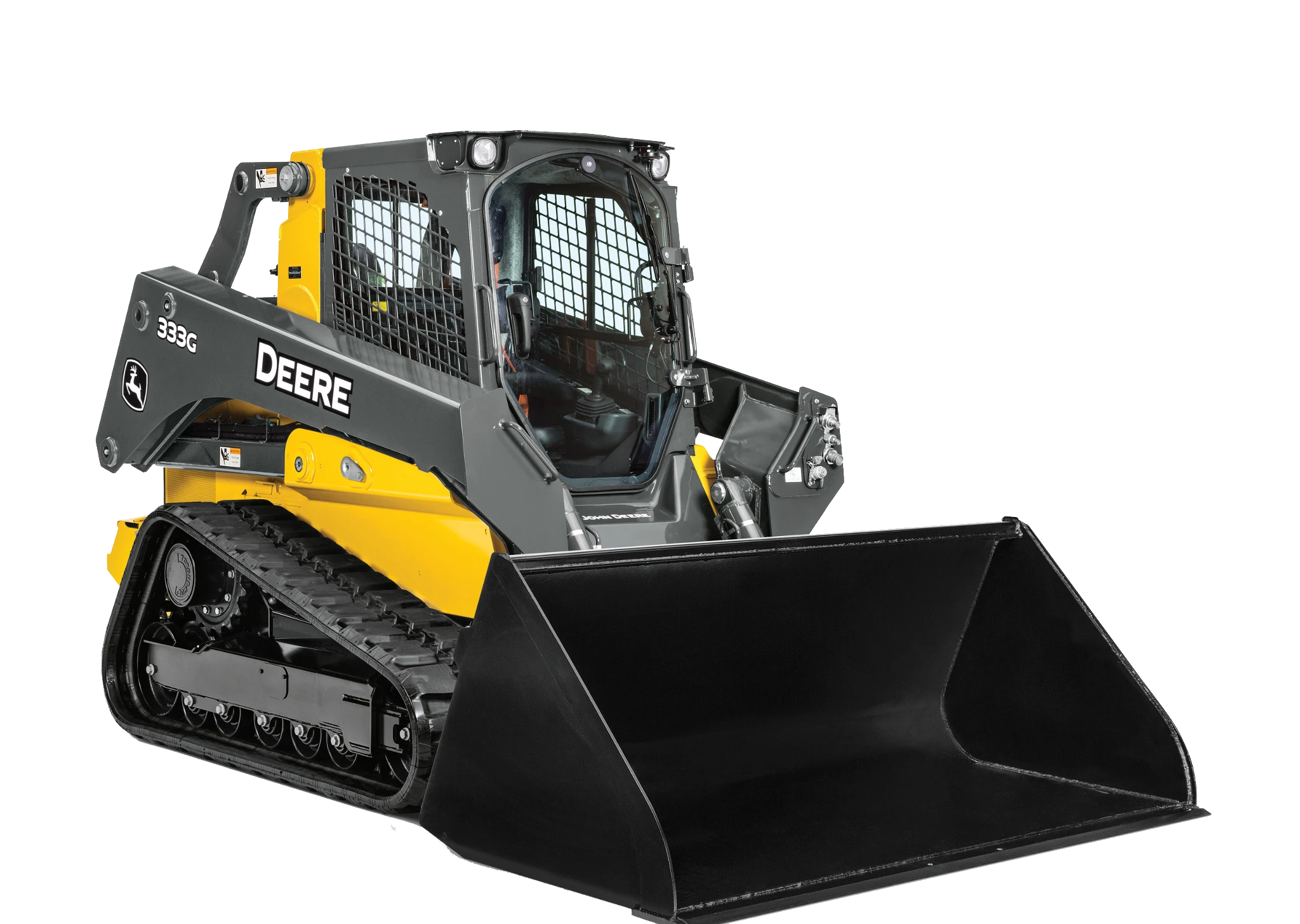 333G Deere bucket loader equipment
